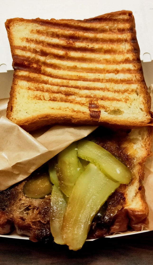Yakiniku Pulled Pork Sandwich