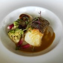 Black Cod With Jerusalem Artichokes, Seasonal Vegetables & Caciucco Sauce