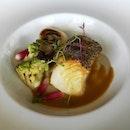 Black Cod With Jerusalem Artichokes, Seasonal Vegetables & Caciucco Sauce