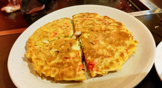 Tom Yum Okonomiyaki
