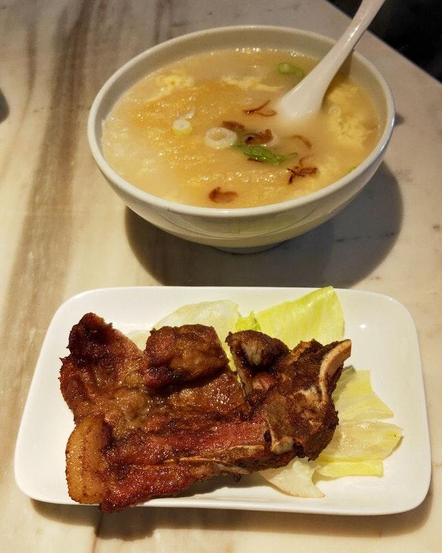 Hand-Pound Pork Chop Soup Noodles