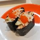 Crabstick Salad Sushi