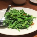 Stir-Fried Chayote Leaves
