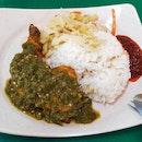 Green Chilli Chicken Rice