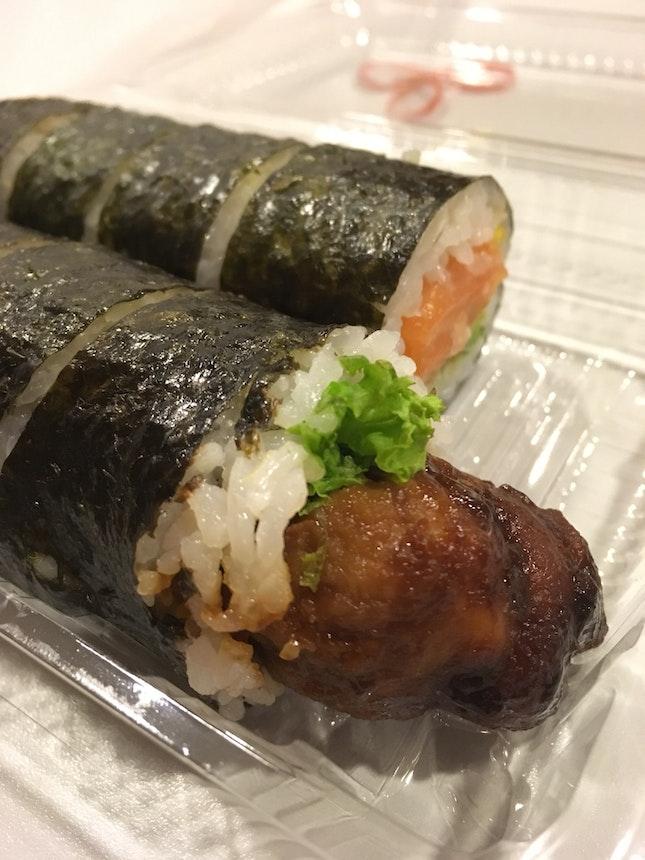 Quick Bites-chicken Terriyaki And Salmon Avocado