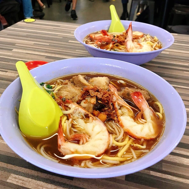 Beach Road Prawn Mee 🦐 🍜