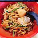 • 🇸🇬 Grandmother Handmade Noodles • (Pork U-mian Noodles,  Dry) A hidden gem in the heart of Toa Payoh.