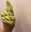 Matcha soft serve