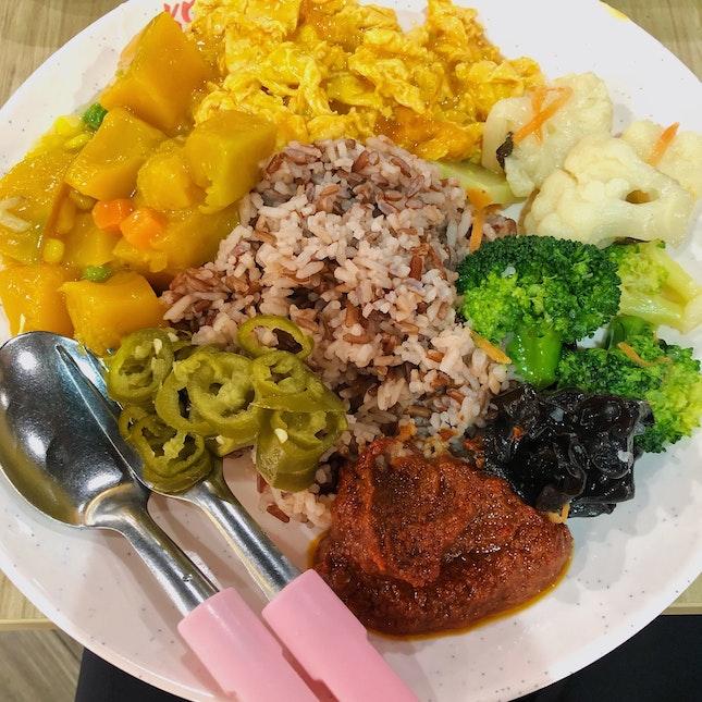 Vegetarian economic rice