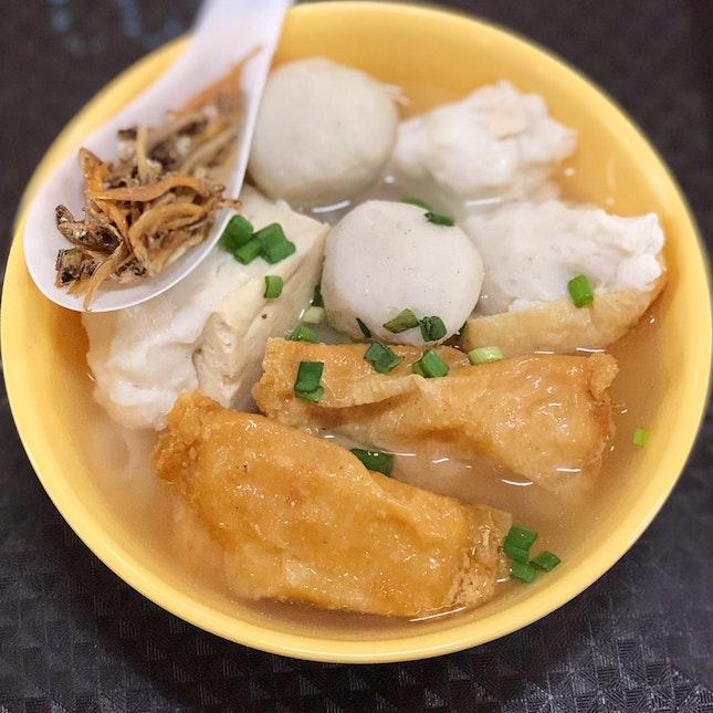 Xiu Ji Ikan Bilis Yong Tau Fu