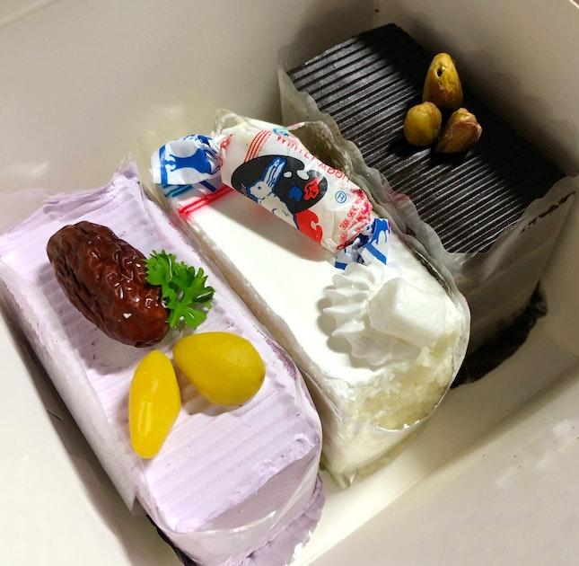 Old School Cream Cake 🍰