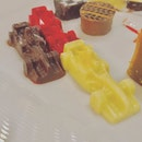 How cool are these F1 themed chocolates at Rise Buffet?!