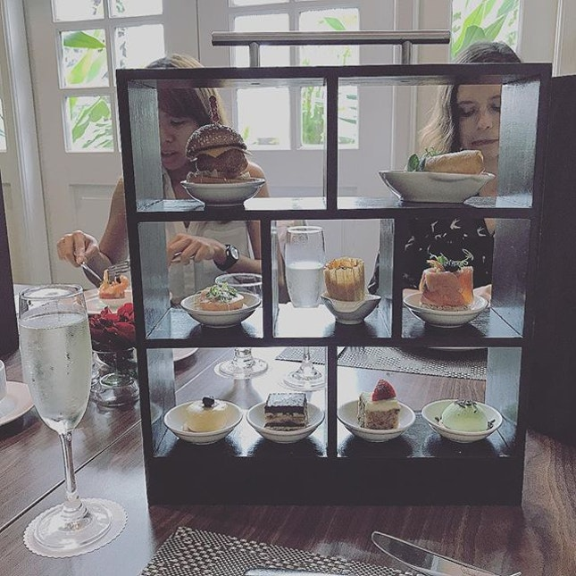 """My wonderful high """"tea"""" with prosecco for my birthday on Tuesday!"""