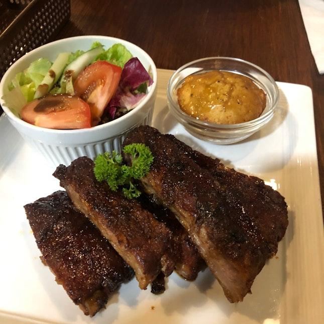 Amazing steak and ribs