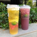 Refreshing Fruits Tea!