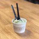 Pistachio Ice Cream ($4.60)