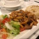 Chicken Kebab + Kanafeh