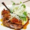 Borrowdale's Pork Chop, $32