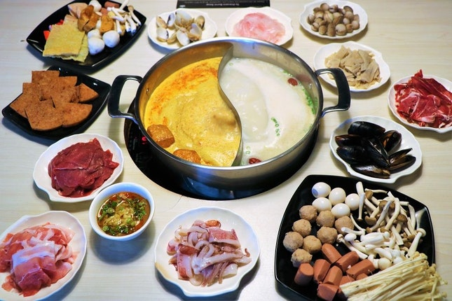 All-You-Can-Eat Laksa Steamboat Buffet For Just $21.80/Pax