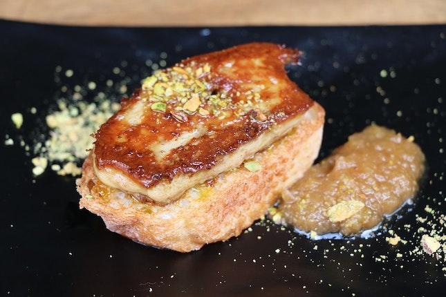 Seared Foie Gras, $16
