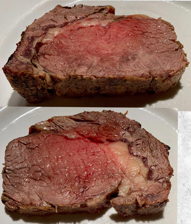 Roasted Ribeye Carving
