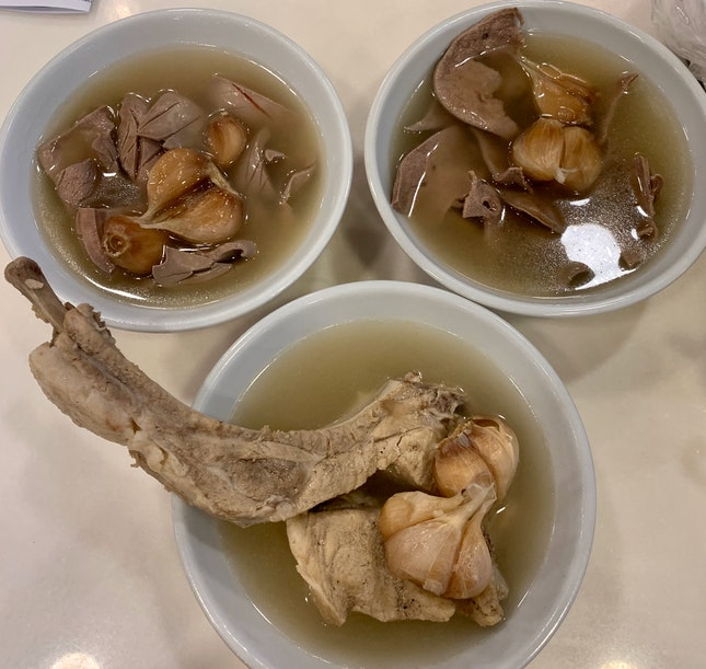 Premium Loin Ribs BKT, Kidney & Liver Soup