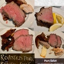 Roasted Beef And Pork