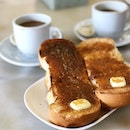 Just kaya toast to start the day, good morning!