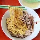 Finally tried this bowl of Bak Chor Mee!