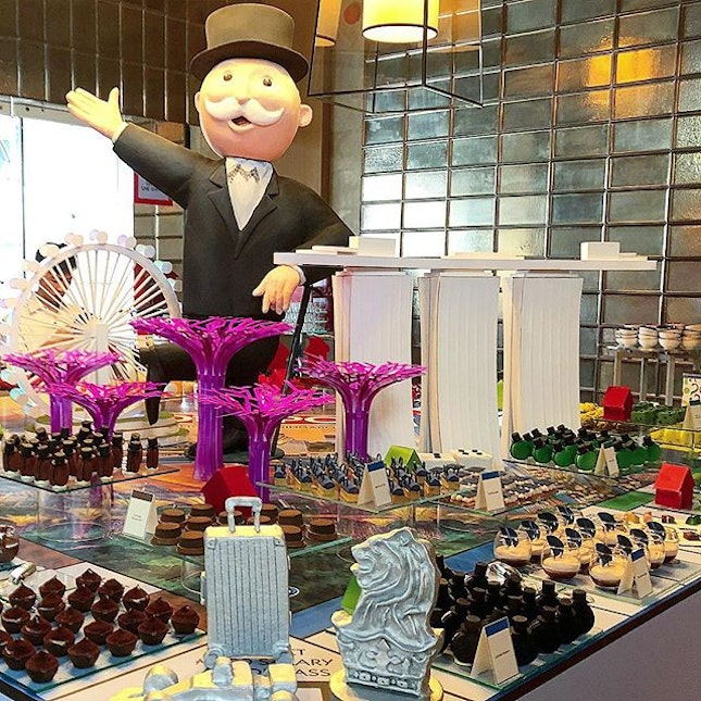 Definitely a day well-played (pun intended) by the team at the @RitzCarltonMilleniaSingapore!