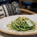 Not your usual green pasta.