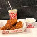 Recently tried the Texas Chicken's Sambal Chicken Meal ($10.20), which macik and auntie both also approve.