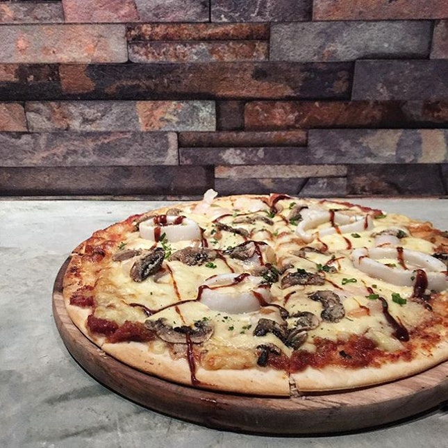 Ever had a Thai flavoured pizza before?