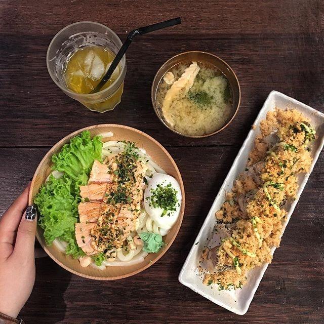 Salmon + Mentaiko = food that comfort my soul.