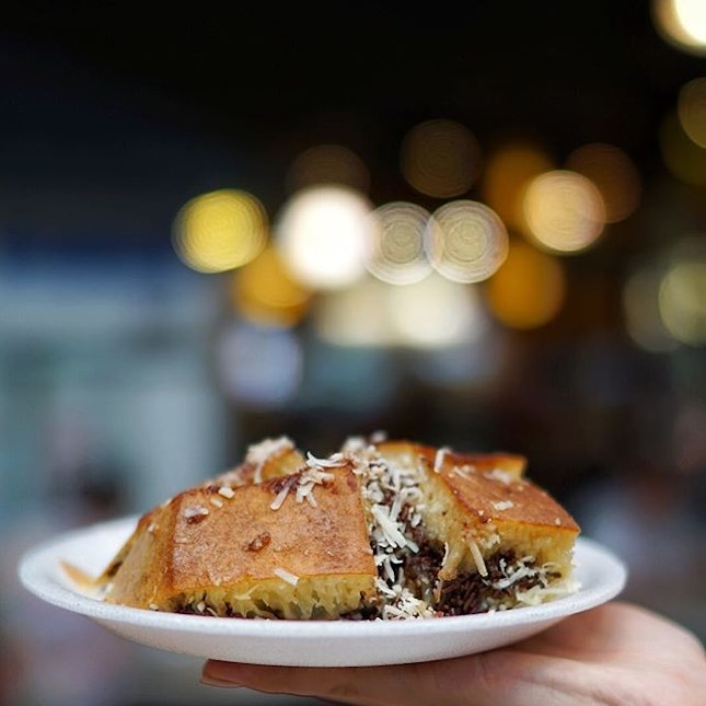 Martabak manis, is one of food from Indonesia, that I always eat everytime I go back.