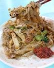 Da Lao Fried White Kway Teow.