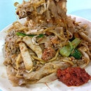 Da Lao Fried White Kway Teow.