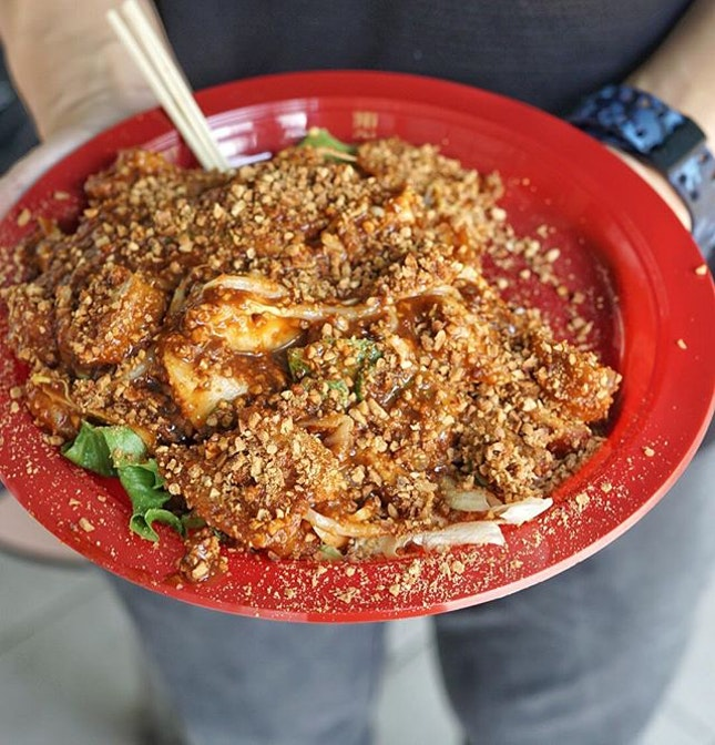 Third time visit, and Finally I can try this famous Whampoa Rojak With Century Egg.