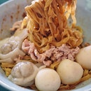 My favourite breakfast is BCM. After saw someone posted about this place, decided to give it try. Pin Ji FishBall Minced Meat Noodles.