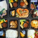 @bluejasmine.sg launched affordable, yummy Bento Boxes, that's available for takeaway and delivery (direct and Foodpanda).