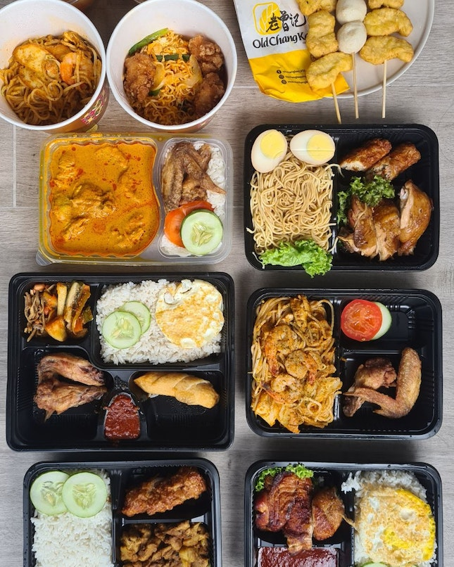 @currytimessingapore launches bento sets and hari raya special. Bento sets specialized in home cook curry and local dishes.