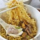 Ordered 小碗面for brunch.