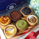 Breakfast with Tart Trip from @parisbaguette_sg  – a collection of six tarts (2 new flavours)