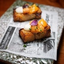 Pura Brasa launched their 5 limited seasonal seafood themed menu with adding sea urchin from Hokkaido and Osietra caviar from Belgium that available for dine-in and takeaway for limited time onlyuntil 30 April2021.