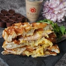Turkey Ham and Cheese Waffles from @theforagecafesg