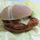 Red Hot Spicy Peppers Burger - S$6.25 Ala Carte