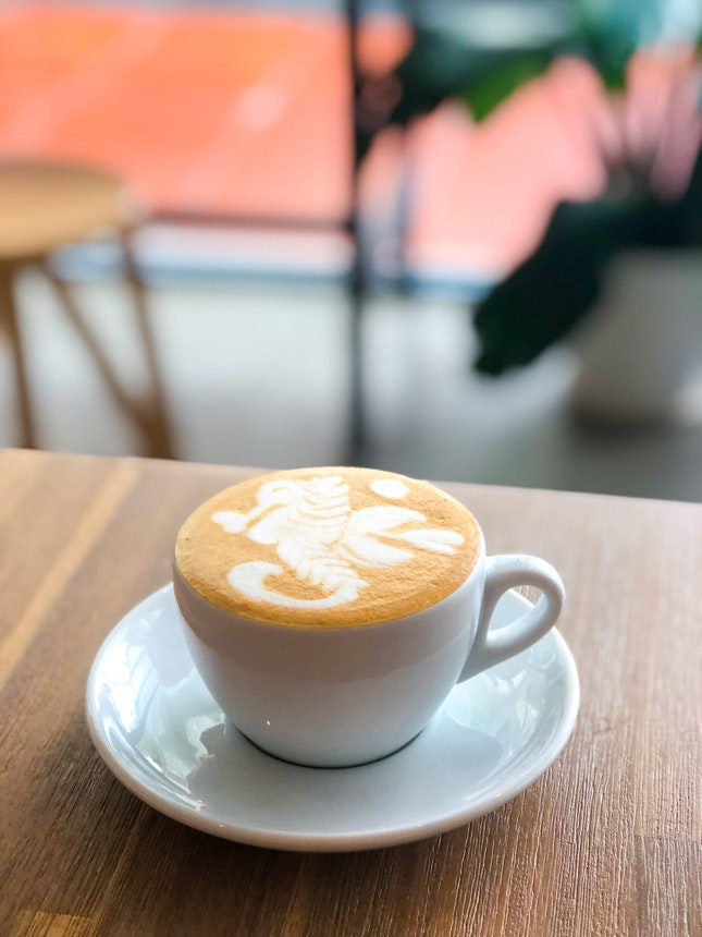 White, with Oat Milk ($5.50)