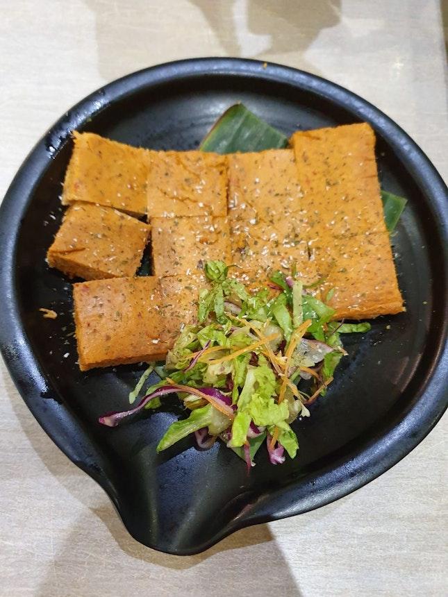 Vegetarian Otah