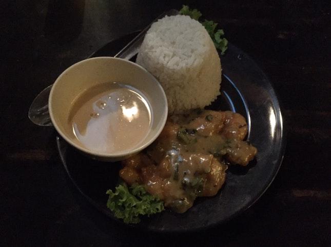 Buttermilk Prawn Rice