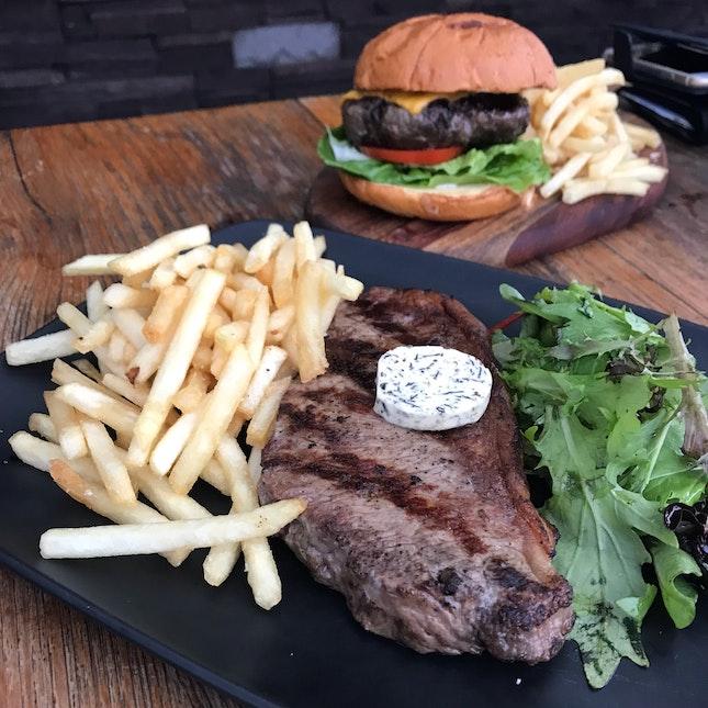 Angus Striploin 🥩 Black Angus Burger 🍔